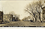 16th and Main Street in Blair, looking west. Postmarked 1903.