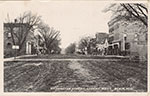 16th and Washington Street in Blair, looking west. Postmarked 1910.